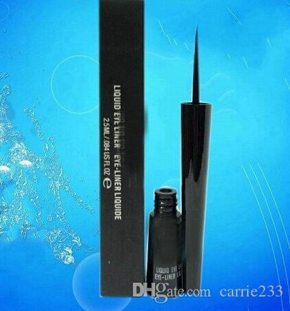Nuevo delineador líquido para delineador de ojos, delineador de ojos de alta calidad, negro 2.5ml (24pcs / lot)