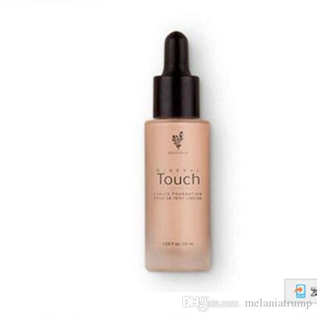 New Liquid Foundation Touch Makeup Face Skin Foundation Concealer Cream and Good Quality Natural DHL Free Shipping