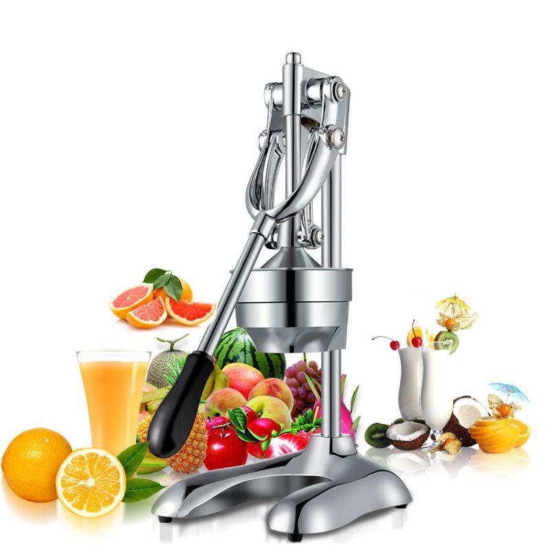 2 pcs stainless steel household commercial manual orange juicer machine Hand Press Machine Orange Lemon grape Juicer