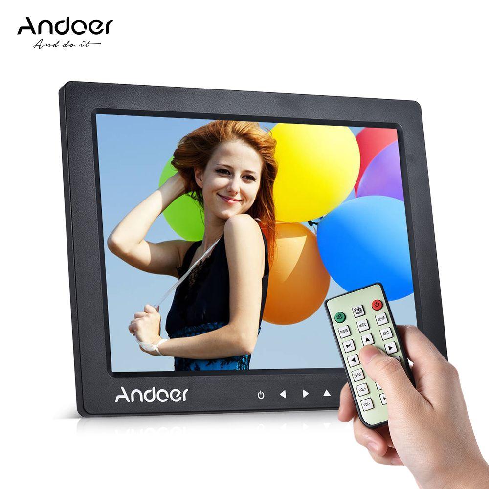 "wholesale 10"" HD Digital Photo Frame Desktop Album Display 1080P MP4 Video MP3 Audio TXT eBook Auto Play w/ Infrared Remote Control"