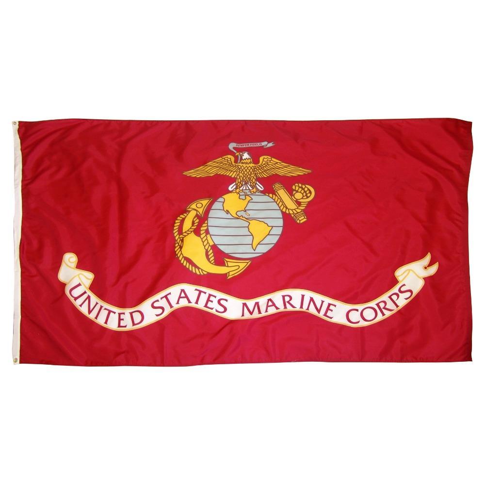 50pcs direkte Fabrik 3x5fts 90x150cm Vereinigte Staaten von amerikanischen USA US-Armee USMC Marine Corps Flagge