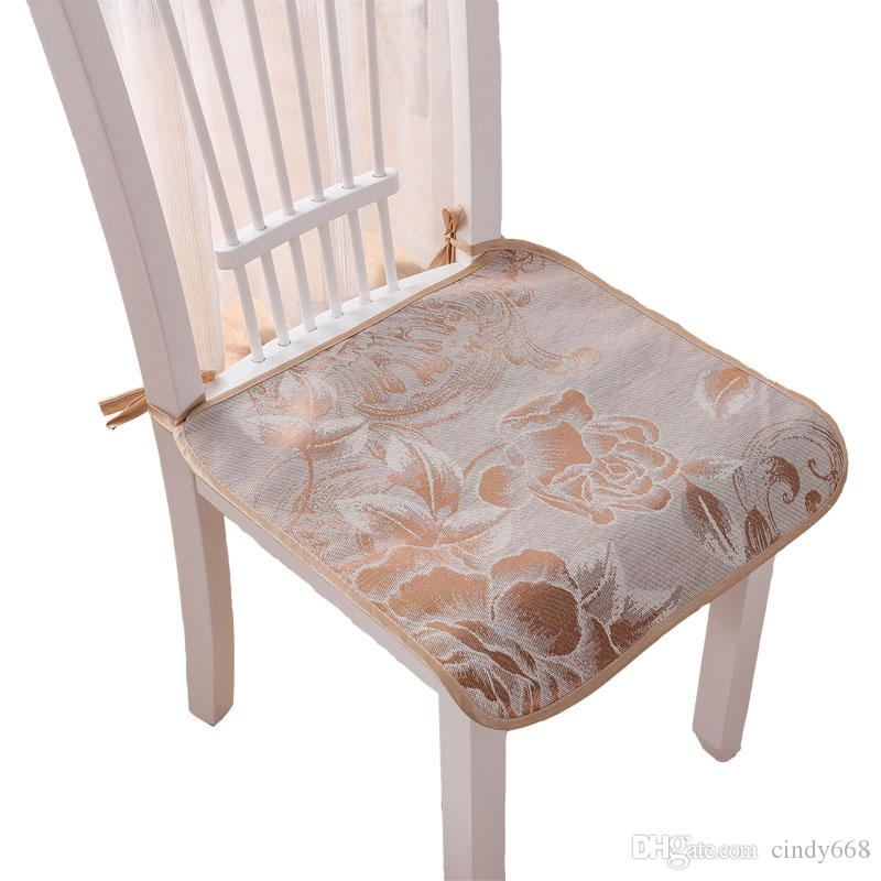 Summer Used Cool Home Kitchen Dining Chair Seat Cushions Garden Office Chair Seat Pads Cushion 30/40/43/50cm Home Decor Textile almofadas