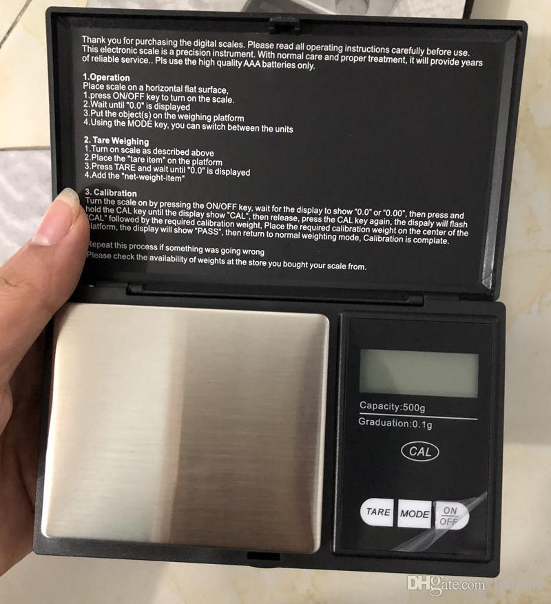 500g 0.1g Yüksek hassasiyetli Elektronik Cep Takı Gümüş Elmas Dijital LCD ekran Ağırlık Gram Mutfak Terazisi