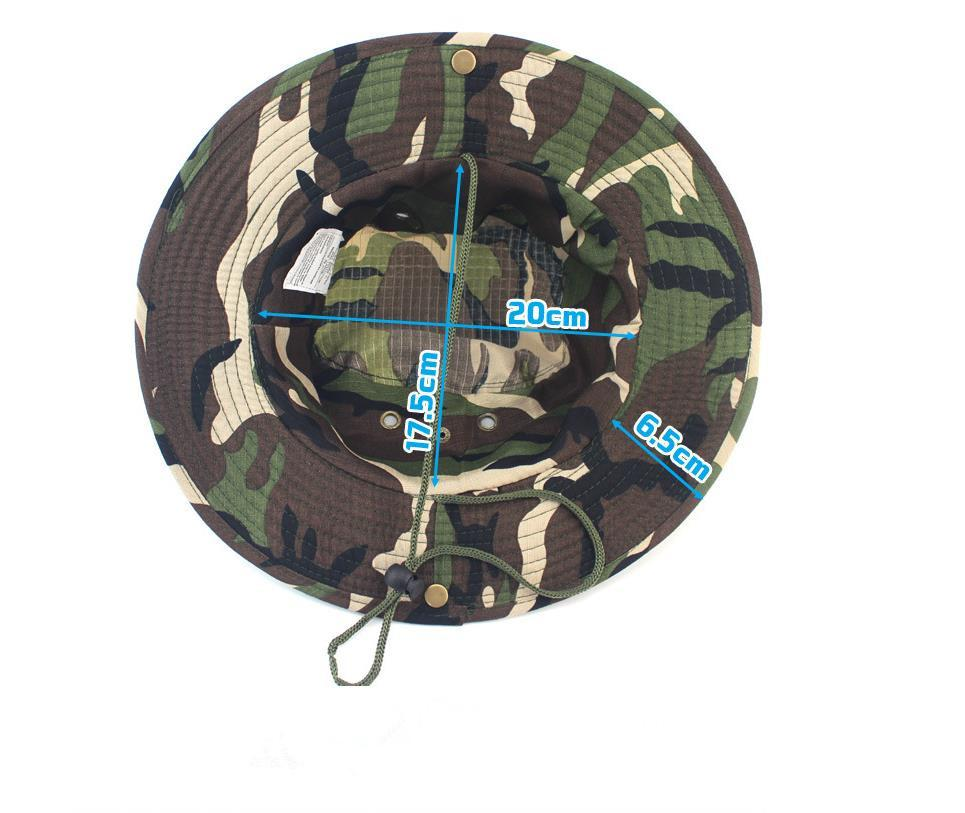 a88567ccfcd Outdoor Men Wide Brim Fishing Hats Quick Drying Summer Sun Cap For ...