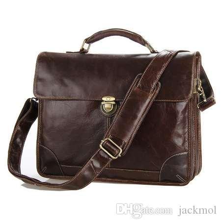 Sacs à main pour ordinateur portable 100% sacs à main hommes sac à sacs sacs fourre-tout Sacs sacs à fourre-tout en cuir de vachette en cuir de vachette en cuir véritable crossbody lrigq