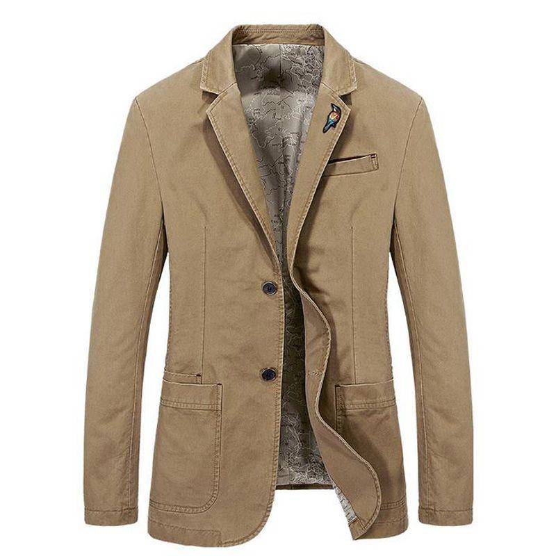 Giacca stile moda uomo cappotto giacca da uomo in cotone blazer da uomo giacca classica da uomo cappotto uomo plus size XXXXL jeckets top