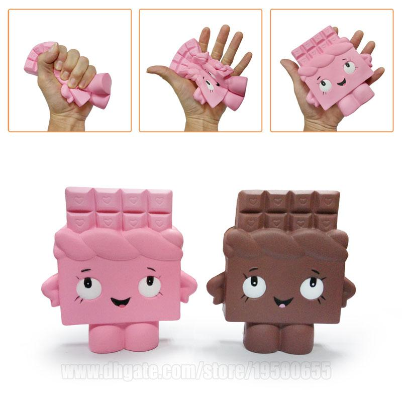 Choc Squishy Chocolate Imitation Squishies Toys