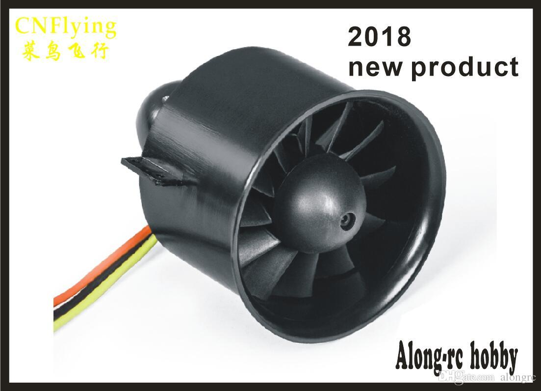 Ücretsiz kargo freewing 2018 YENI 80mm EDF 12 bıçak 6 S E7239 (3150-3400g itme) EDF uçak veya 12 bıçakları için pervane veya E7238 (2500-2800G)