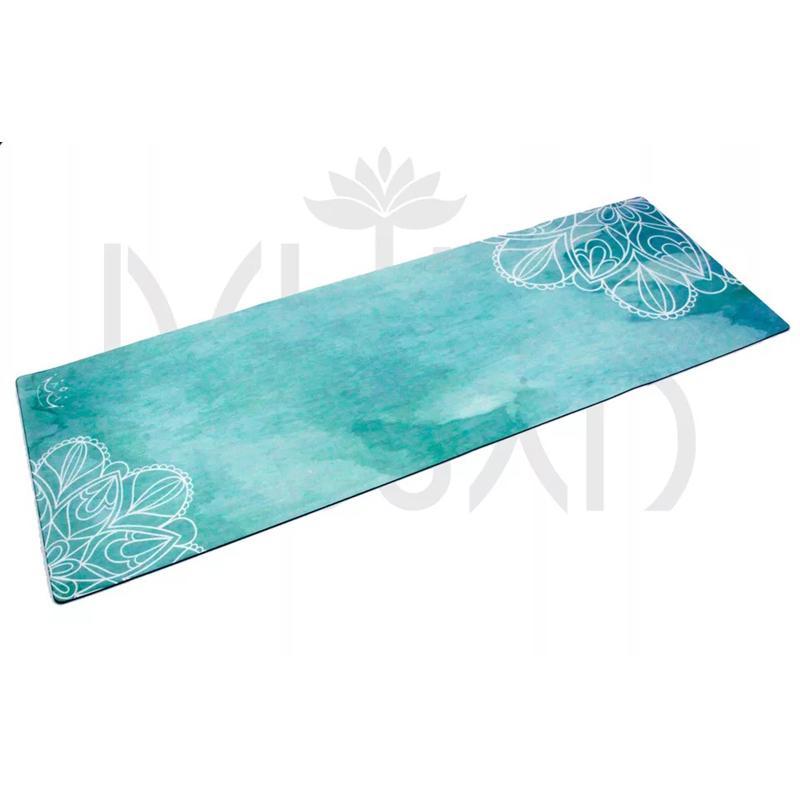 Caucho Natural de Protección Ambiental de absorber el sudor Esterilla de yoga antideslizantes pierda peso Yoga Mat Colchoneta de ejercicio de fitness
