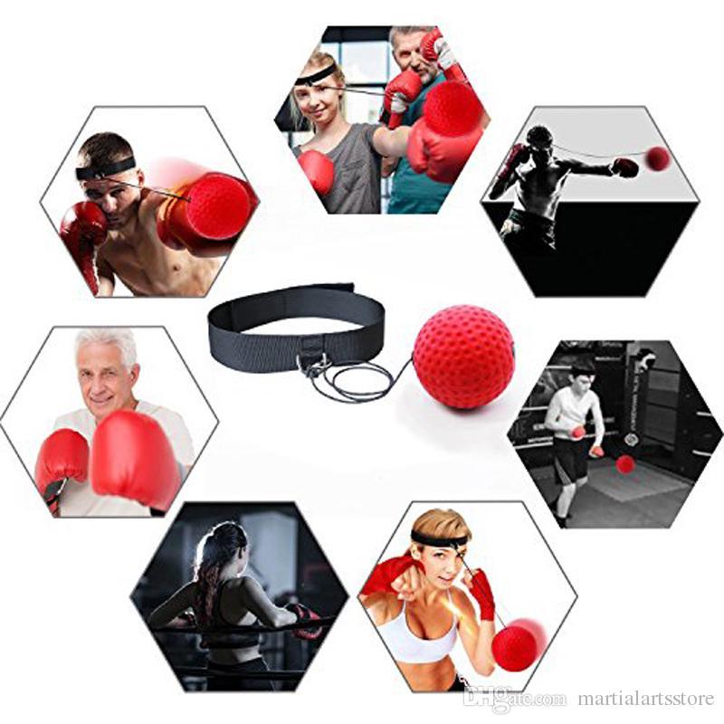CXKWZ Geschwindigkeitsball Stirnband Erwachsene Geschwindigkeitstraining Taekwondo Boxsack Treten Freie Gr/ö/ße Kampfboxen Grappling Boxer Kampf Reflex Boxing Ball