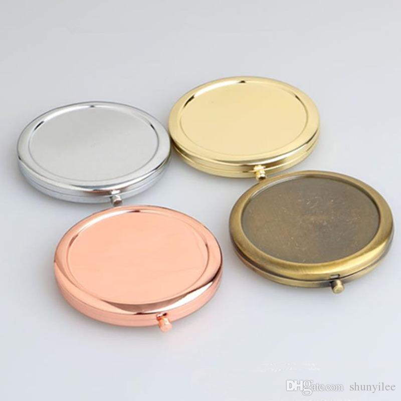 المحمولة للطي مرآة ماكياج التجميل جيب مرآة ل ماكياج مرايا الجمال الملحقات الشحن السريع F1496