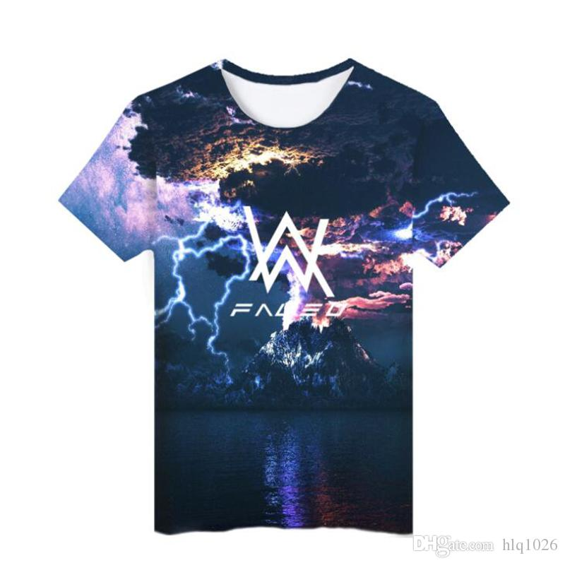 Mode 3D Print T-shirt Für Männer Frauen Unisex Sommer Kurzarm T-shirt Leichte T-shirt Top T