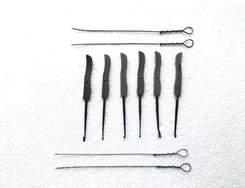 19 Pcs Multi-function Steel Broken Key Extractor Removal Hooks// Needles Tool