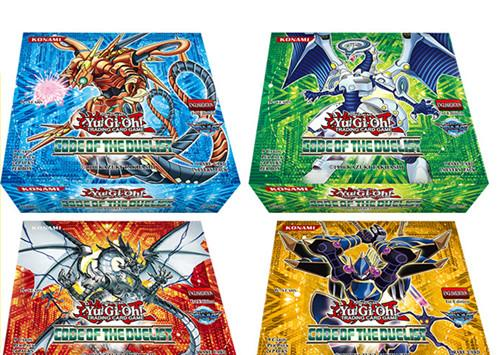 216 pcs / box yugiohcard Game Toys English Version Boys Girls Yu Gi Oh Games Collection Cards Christmas Gift