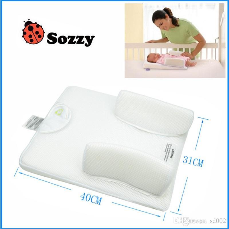 وسادة نوم الطفل تمنع القيء من الحليب وقلل من الجسم رضع ماتس صافي مواد حماية البيئة 29tj ff