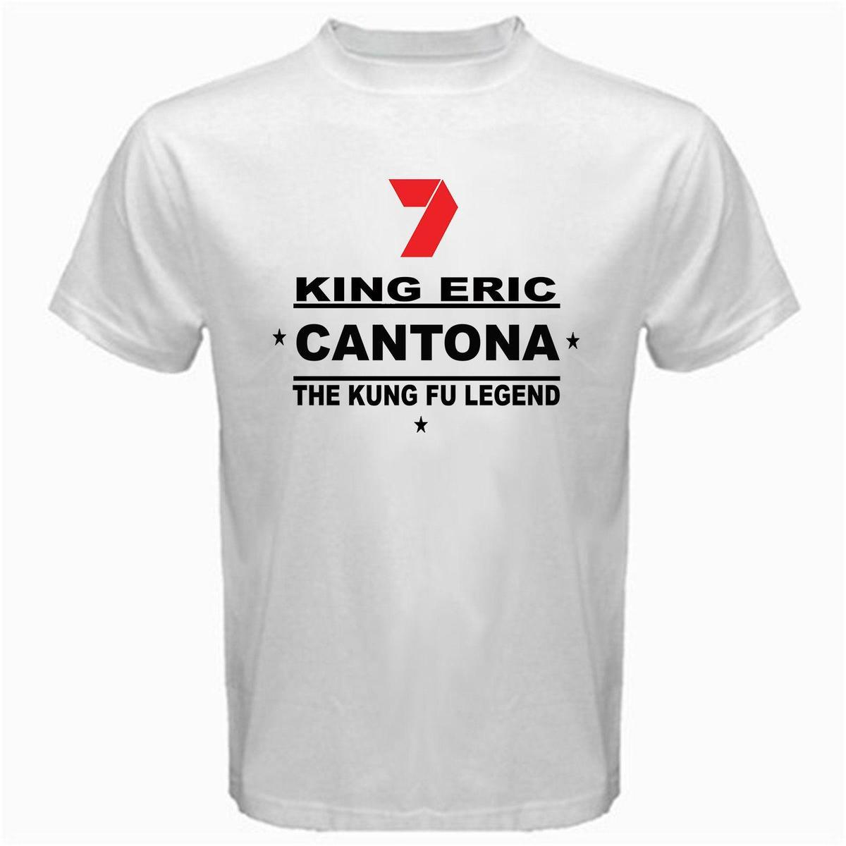 King Eric Cantona The Legend Kung Fu Style Tshirt White Humor T Shirts Funky T Shirt From Liguo0025 15 53 Dhgate Com