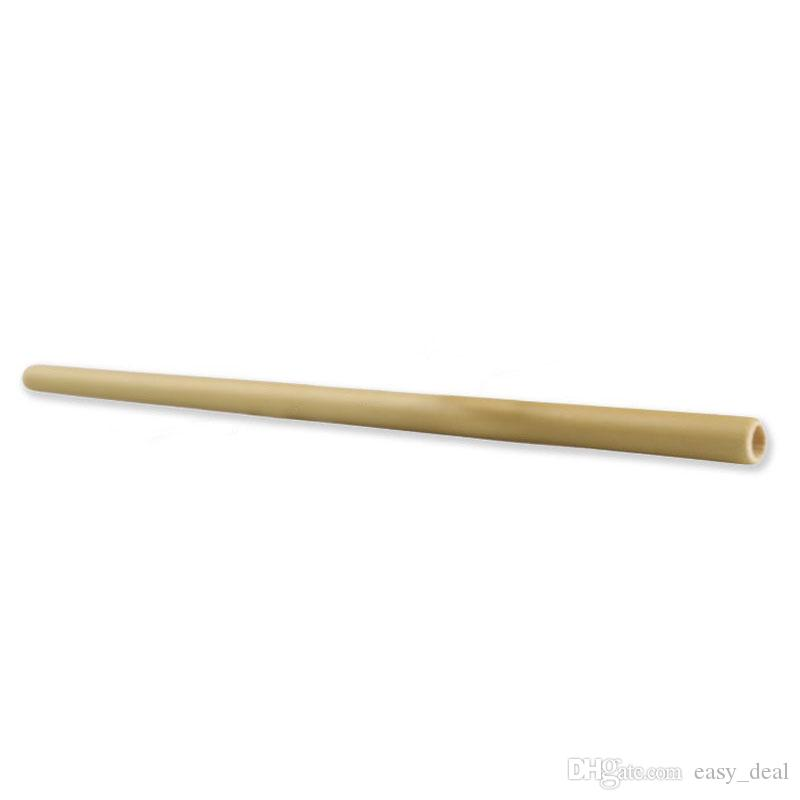 Bamboo Drinking Straw For Bar Party Birthday Wedding Eco-friendly Juice Water Beer Drinking Straws Tableware ZA6300