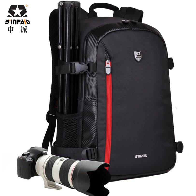 Большой DSLR сумка рюкзак плеча камеры чехол для цифровых камер