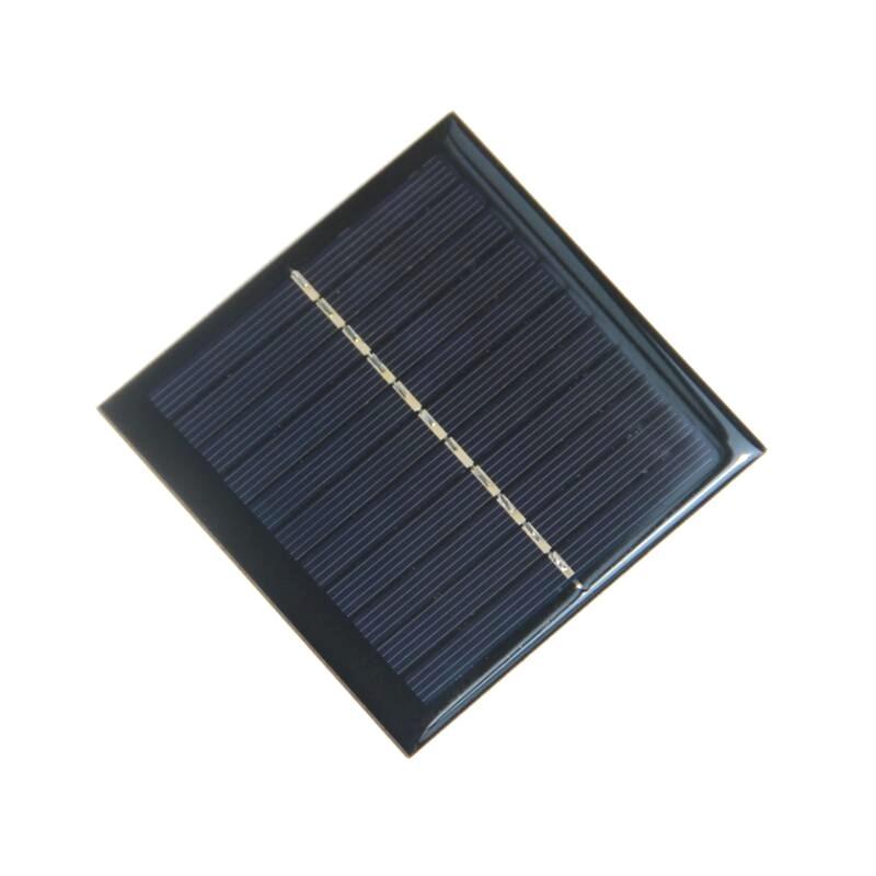 En gros Cellule Solaire 1Watt 5.5 Panneau Solaire Pour Chargeur de Batterie DIY Module Solaire Polycristallin 10 pcs / lot