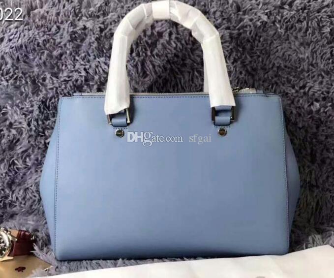 bolsos mujer de marca Famosa cuoio genuino delle donne 2018 di tote di modo lussuosa borsa del progettista Shoulder Bag Messenger