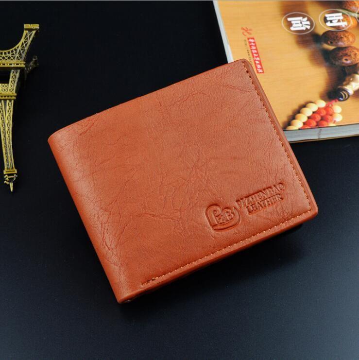 209fc595 Coin Bag Zipper New 2018 Men Wallets Famous Brand Mens Wallet Male Money  Purses Wallets New Design Top Men Wallet Vegan Wallets Expensive Wallets  From ...