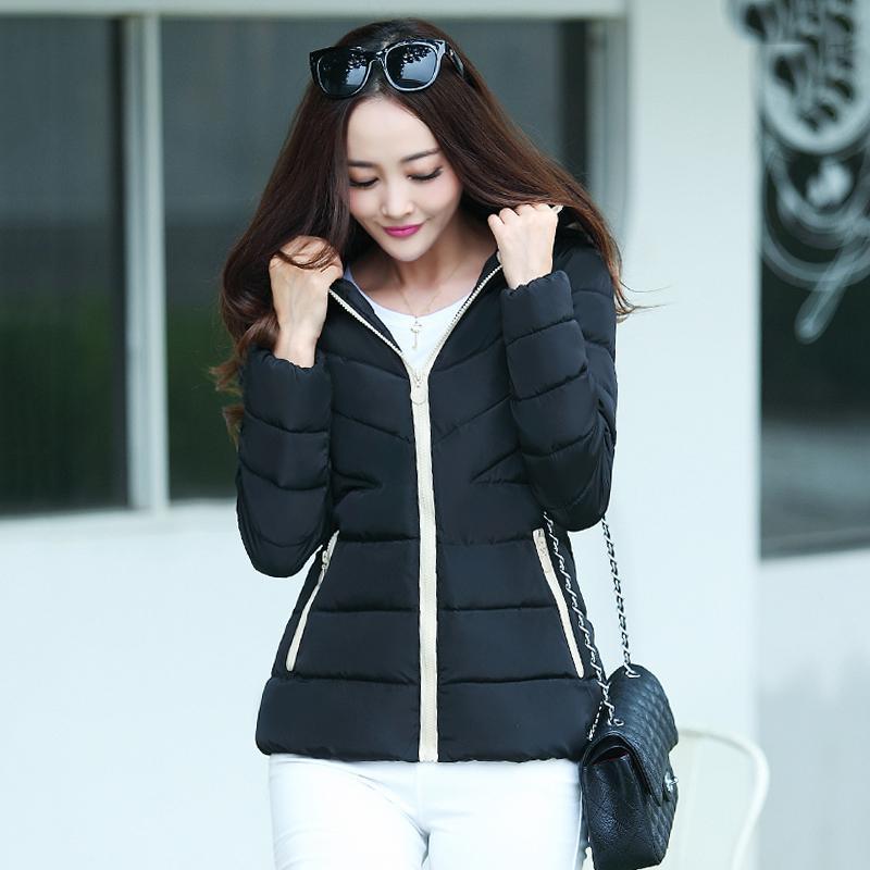 2018 большой размер 3XL с капюшоном зима женщины куртка сверхлегкий цвета короткие Jaqueta джинсовая осень женский пальто верхняя одежда