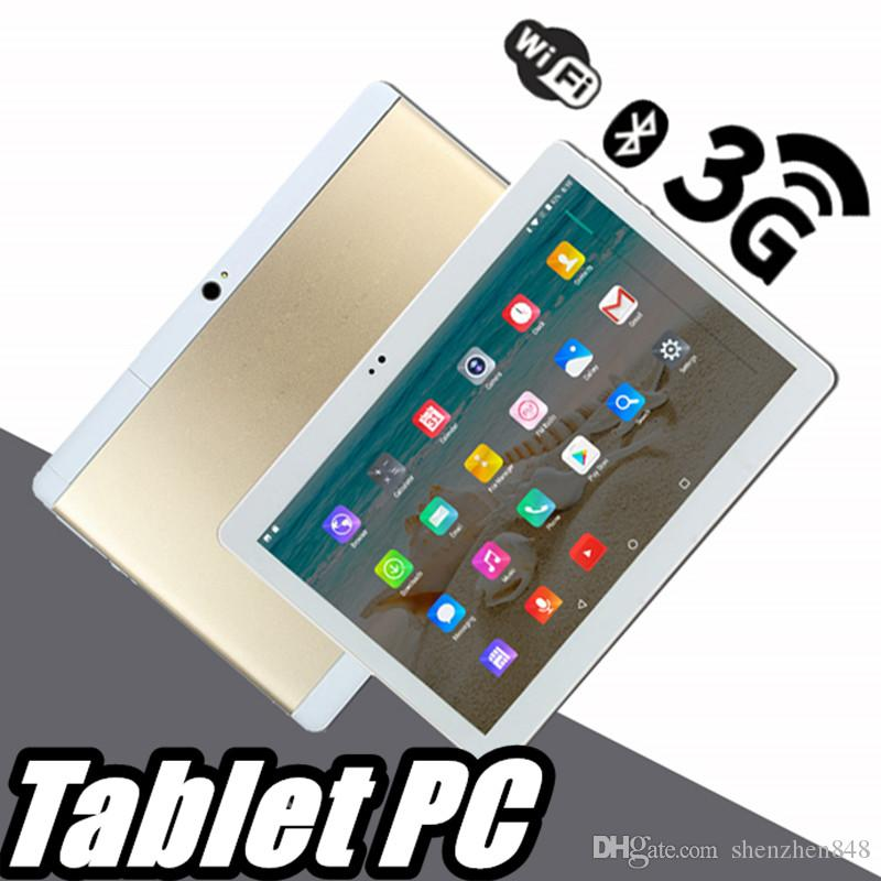 """848 High quality 10 inch MTK6572 MTK6582 IPS capacitive touch screen dual sim 3G tablet phone pc 10"""" android 6.0 Octa Core 4GB 64GB G-10PB"""