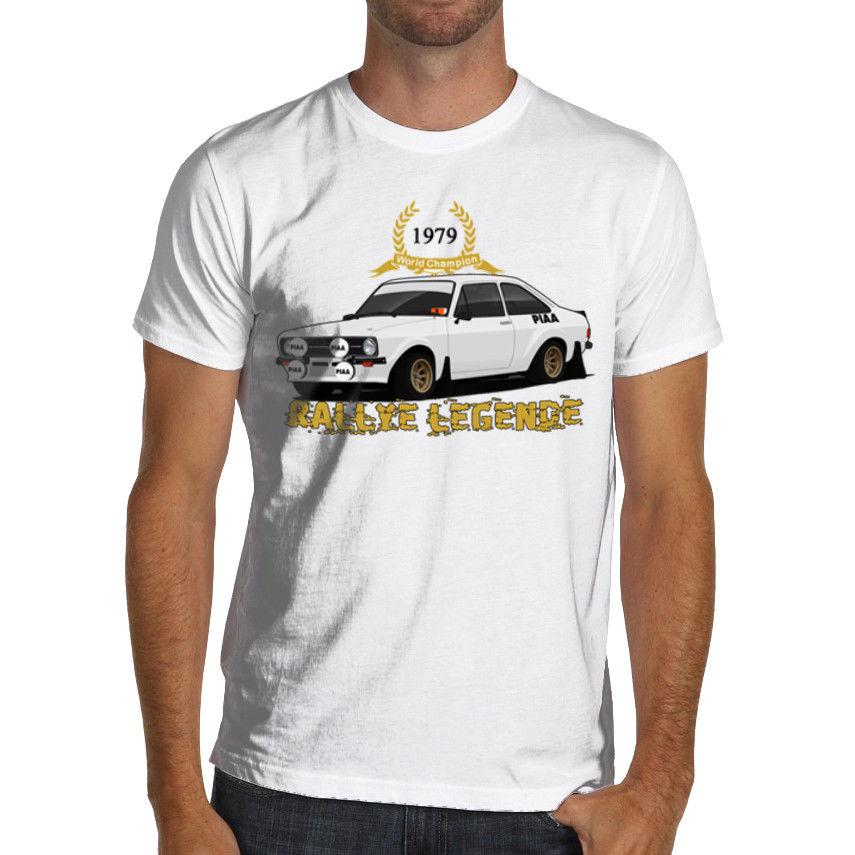 Rallye Rally Legende Ford Escort Mk2 Rs1800 Vintage Racinger T