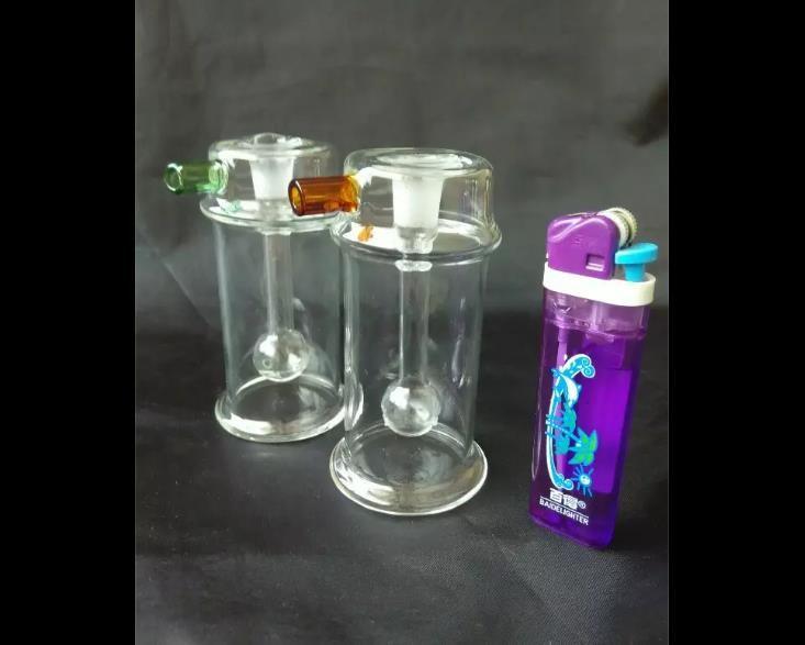 shisha Bongs de cristal al por mayor Quemador de aceite Tubos de agua de vidrio Plataformas petroleras libre de humo