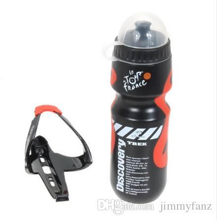 ضروري المحمولة 650 ملليلتر في الهواء الطلق الدراجة الجبلية mtb دراجة الدراجات الرياضة زجاجة المياه مع البلاستيك حامل قفص رف الألياف الزجاجية