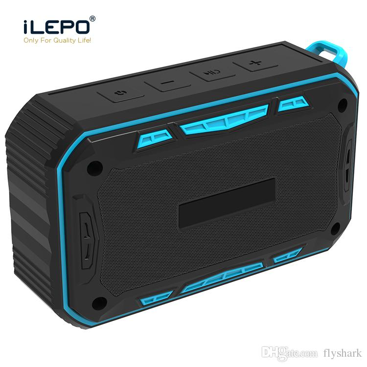 IP65 Waterproof Bluetooth Speaker For Outdoor Sports With 8W 2000mAh Subwoofer Mini Bluetooth Speaker Support TF Card FM Radio Aux