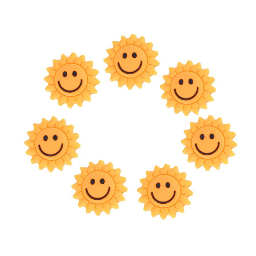 1pcs Lovely Cute Rubber Sunflower Tennis Racket Shock Absorber to Reduce Tenis Racquet Vibration