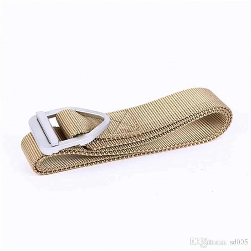Warhead Pearl Lnumber Inner Belt High Strength Nylon Outdoor Equipment Multi Function Rappel Weave Waistband Men And Women Belts 8 5xz G