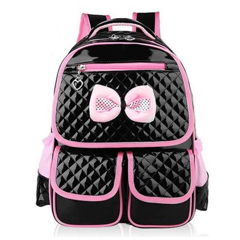 Lovely princess girls bag elementary student density School bag Water proof han edition children backpack School bag C18111901