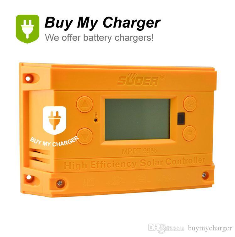 Nouveau chargeur intelligent contrôleur de charge solaire MPPT 12V / 24VDC 10A Régulateur batterie 2 USB 5V