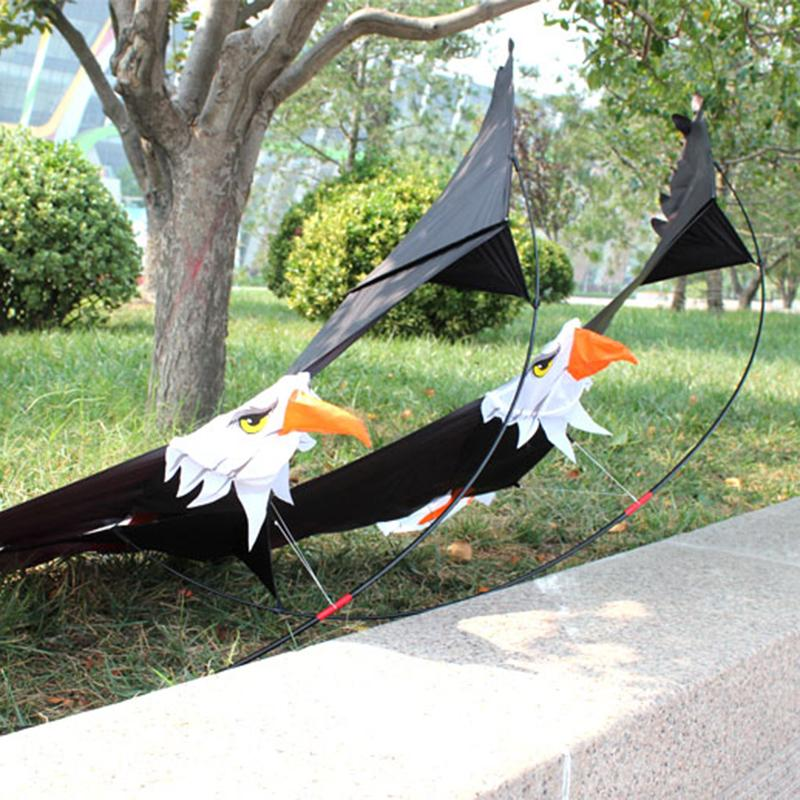 2019 3D Eagle Kite Single Line Large Bird Style Flying Kite Children  Outdoor Toy Kite From Justokay, $33 17 | DHgate Com