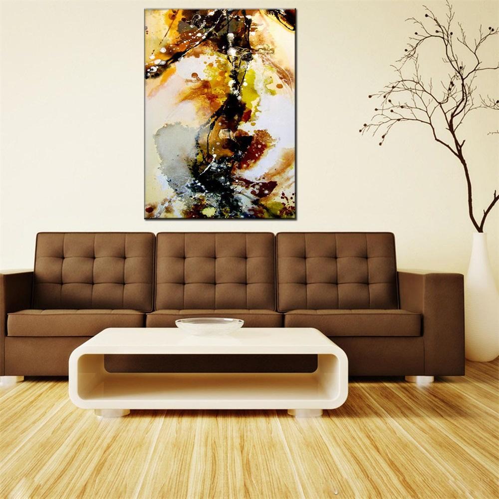 Хуа Туо абстрактная картина маслом 60 х 90 см Home Decor Artwork картины маслом абстрактный стиль холст материал с деревянными носилками готов НБ