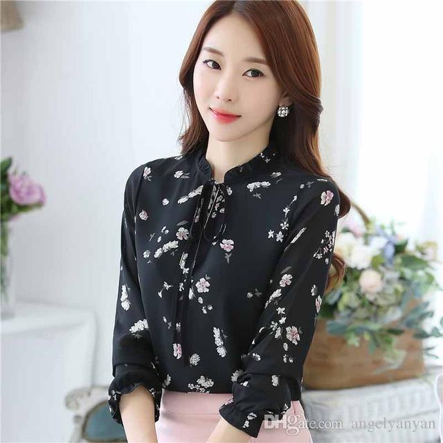 black floral shirt womens