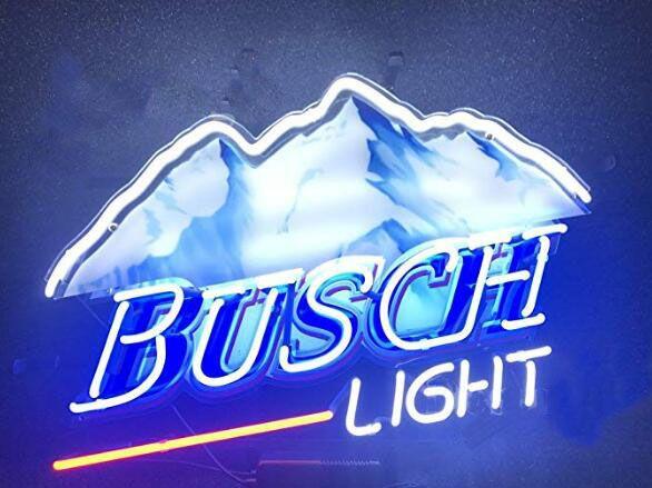 2020 Busch Light Neon Light Sign Home Beer Bar Pub