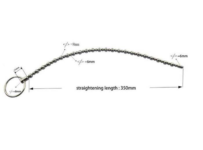 NUOVO lungo dilatatore in metallo con inserto uretrale in acciaio inossidabile Suona uretrale HOT # R47