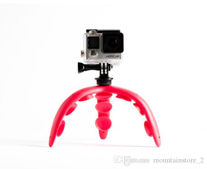 Supporto per telefono Supporto per supporto flessibile Supporto per fotocamera per iPhone 7 4S 5 X 8 Samsung HTC Xiaomi Moible Gopro hero 5 6
