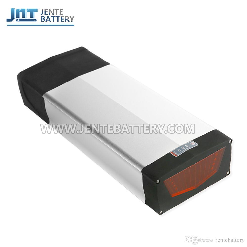 Envío libre + batería suspensión trasera 20H 48V batería eléctrica de la bicicleta con 5V 1A USB socket para 1000W / 750W motor + BMS + Charer