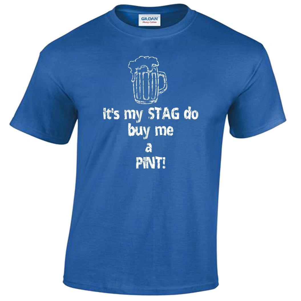 Stag Do T Shirt Mens S-5XL funny tee top party night