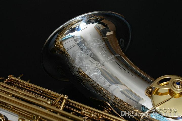 YANAGISAWA T-9937 الفضة مطلي المستوى المهني تينور ساكسفون لالموسيقي B شقة مع الآلات الموسيقية # F الساكسفون
