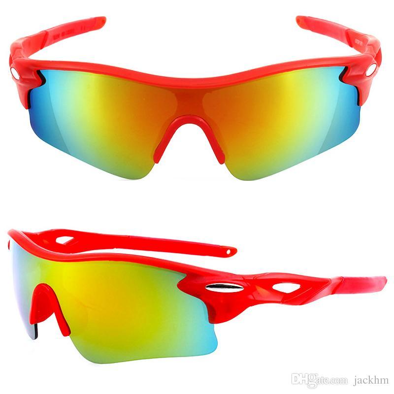 Yüksek kalite Erkekler Kadınlar için Spor Güneş Gözlüğü Rüzgar Geçirmez UV400 Bisiklet Koşu Sürüş Balıkçılık Golf Beyzbol Softbol Yürüyüş Gözlük Gözlük