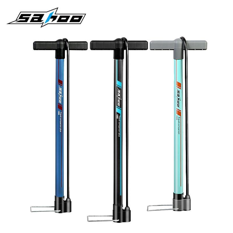 Sahoo Bisiklet Bisiklet Bisiklet Pompası Hava Saati Hava Pompası Basınç Ölçer 160PSI 130PSI Dağ Yolu Bisiklet Pompası Aksesuarları ile