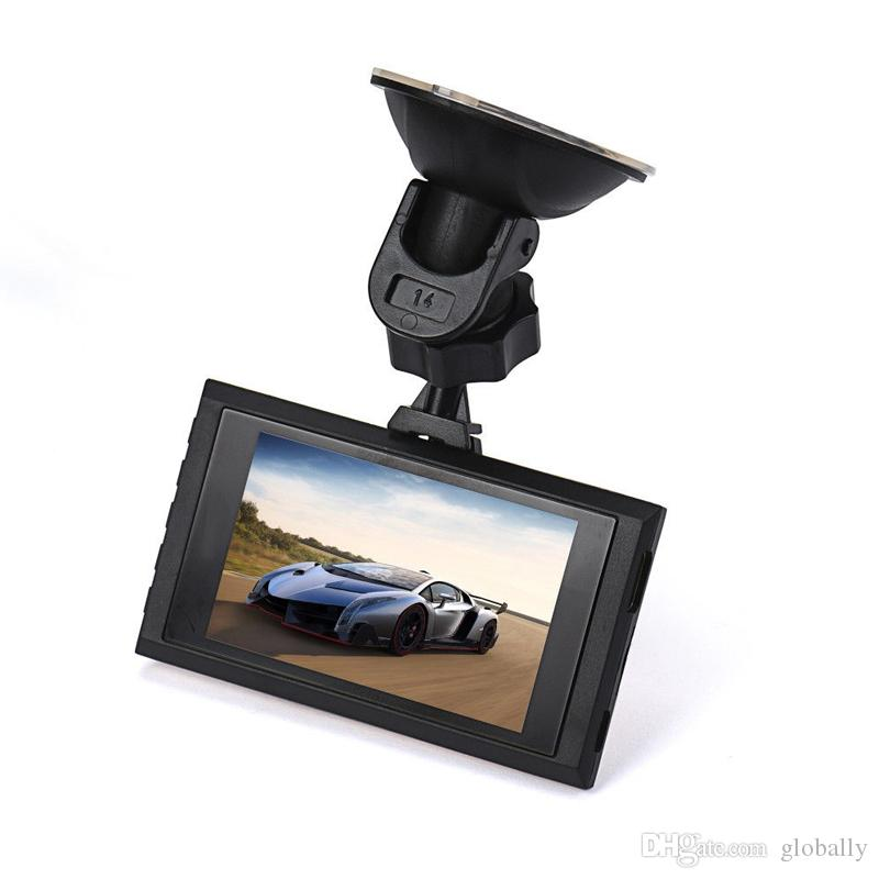 Free shipping Ultra-thin LCD HD Car DVR Vehicle Camcorder Support Night Vision Dash Cam Camera Video Recorder
