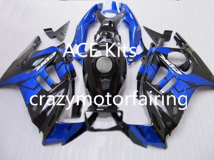 Motorcycle Fairing kit for HONDA CBR600F3 97 98 CBR600 F3 CBR 600F3 1997 1998 ABS hot Blue Black Fairings set+3gifts 39