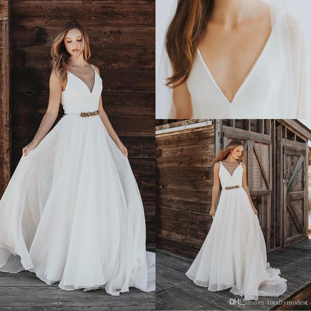 Beach Outdoor Wedding Summer Wedding Dresses Mypic Asia,Fifty Plus Dresses For Weddings