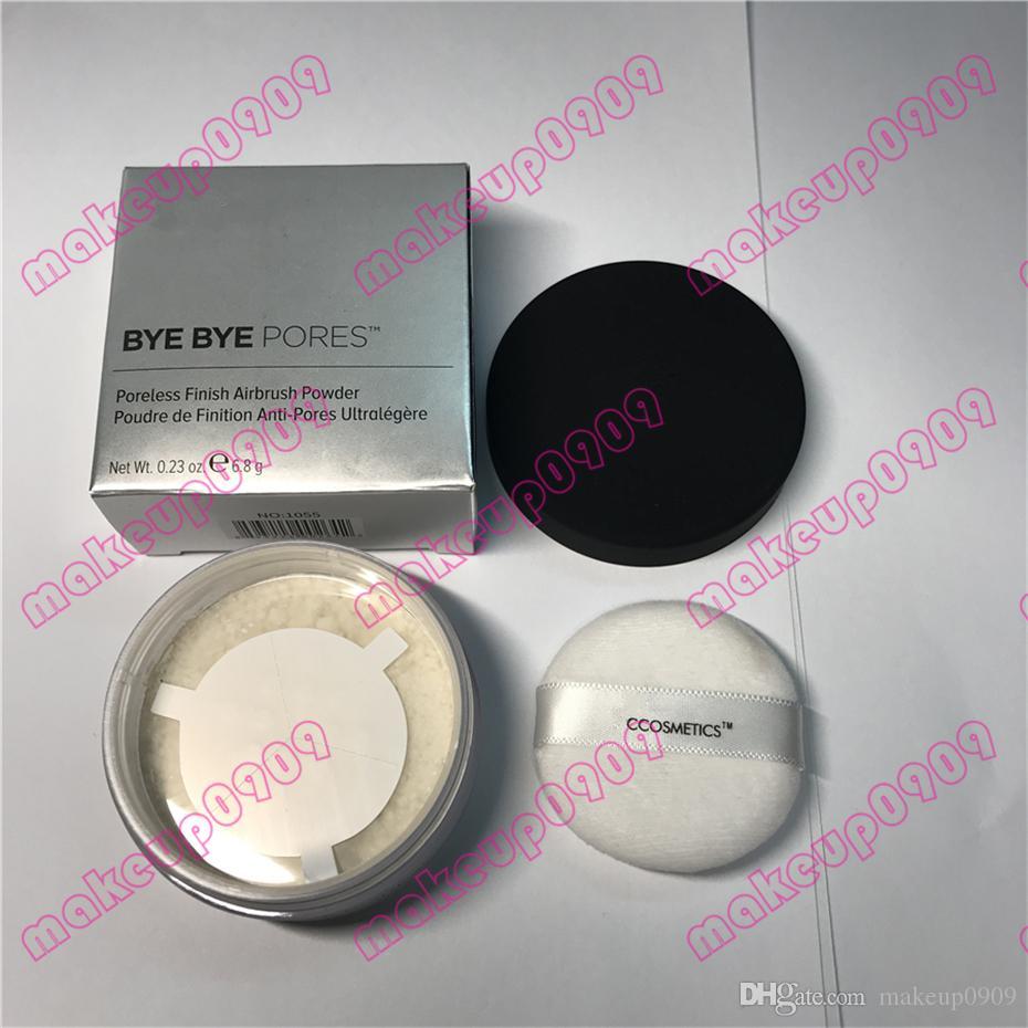 Envío de DHL Bye Bye poros Poreless Acabado Airbrush Powder Poudre de Fnition buena calidad Face Powder 6.8 g 0.23oz 100% real photo